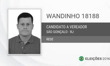 Wandinho foi acusado de integrar uma organização criminosa Foto: Reprodução