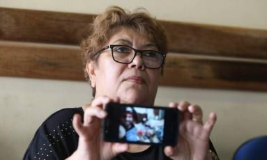 Mulher de idoso vai processar a Light Foto: Fabiano Rocha / Extra