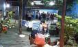 A população de rua aumentou na Praça Cardeal Arcoverde Foto: Reprodução/Copacabana Alerta