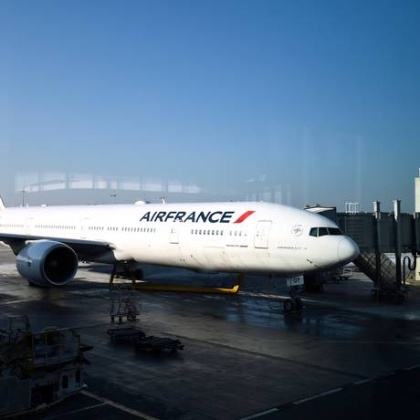 Funcionários da Air France fazem paralisação dia 22 e voos serão cancelados: consumidores têm direito a ressarcimento por prejuízos Foto: BERTRAND GUAY / BERTRAND GUAY/AFP/20-01-2017