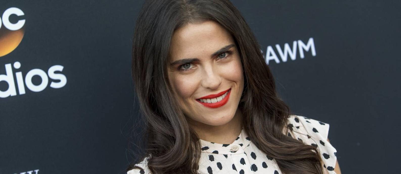 A atriz Karla Souza, de 'How to get away with murder' Foto: Paul A. Hebert/Invision/AP