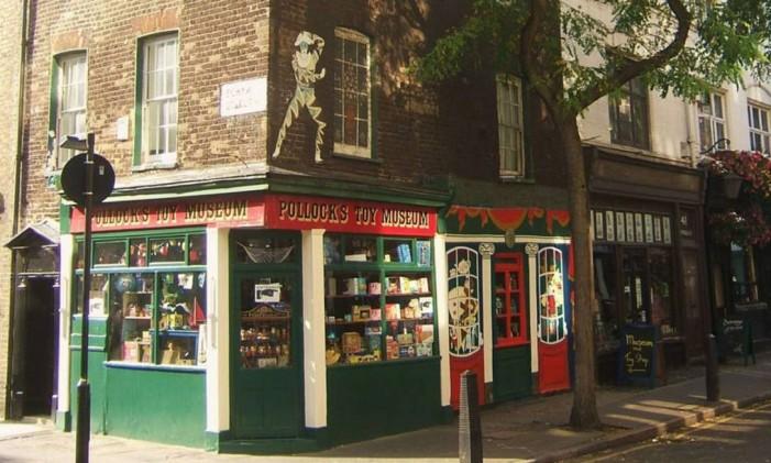 Museu do Brinquedo em Pollock, Londres: brinquedos da Era Vitoriana. Divulgação: http://pollockstoys.com/ Foto: Divulgação