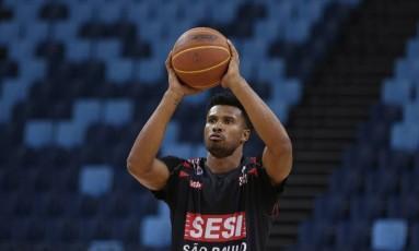 Ex-NBA, Leandrinho joga atualmente no Franca Foto: Gustavo Miranda/12-1-2018 / Agência O Globo