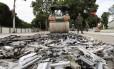 Ideia de parlamentares é facilitar a compra de armas por civis Foto: Antonio Scorza / Agência O Globo