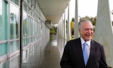 O presidente Michel Temer Foto: Marcos Correa/Presidência da República