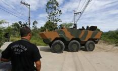 Intervenção federal no Estado do Rio começa em presídio Foto: Pablo Jacob / Pablo Jacob