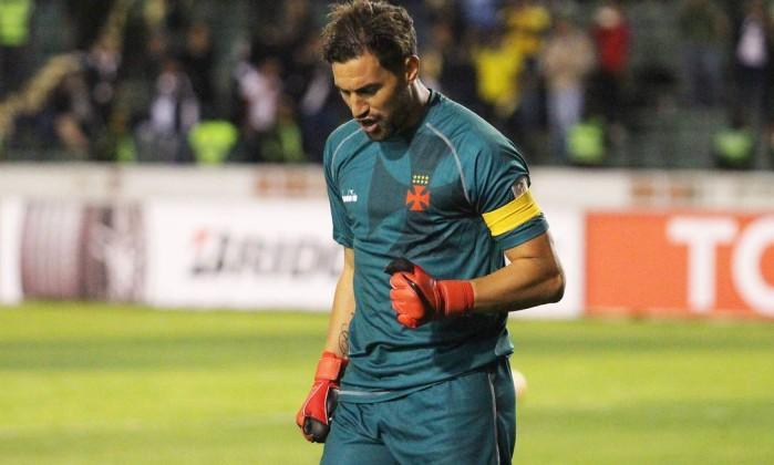 Martín Silva foi o herói da classificação do Vasco Foto: Carlos Gregório Jr/Vasco.com.br