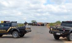 Agentes da Polícia Federal fazem operação Foto: Divulgação / Polícia Federal