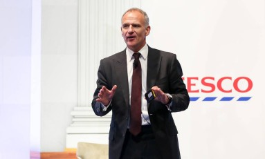 Dave Lewis, chefe-executivo da Tesco Foto: Simon Dawson / Bloomberg