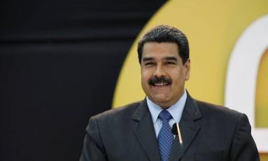 O presidente da Venezuela, Nicolás Maduro, enfrenta oposição fragmentada Foto: MARCO BELLO / REUTERS