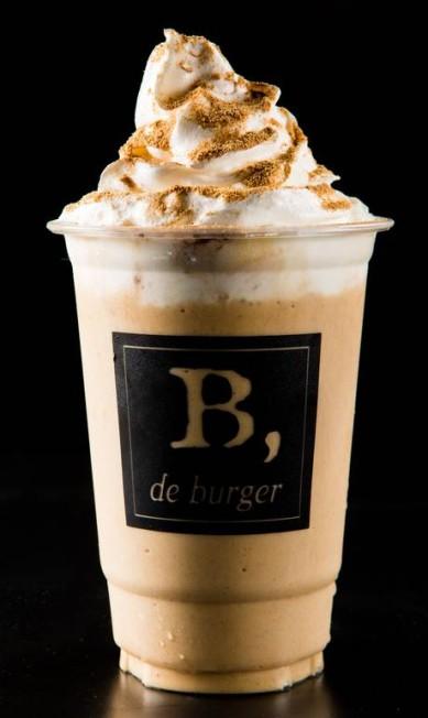 B de Burger. Churros para beber de canudinho! É o sabor-tentação de um dos milk-shakes da hamburgueria. R. Teixeira de Melo 21, Ipanema (2523-6098) LipeBorges (lipeborges.com.br) / Divulgação