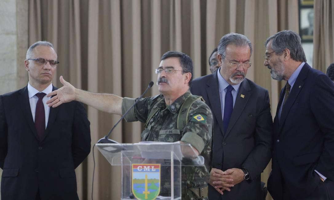 O general de divisão Mauro Sinott Lopes Foto: Antonio Scorza - 28/07/2017 / Agência O Globo