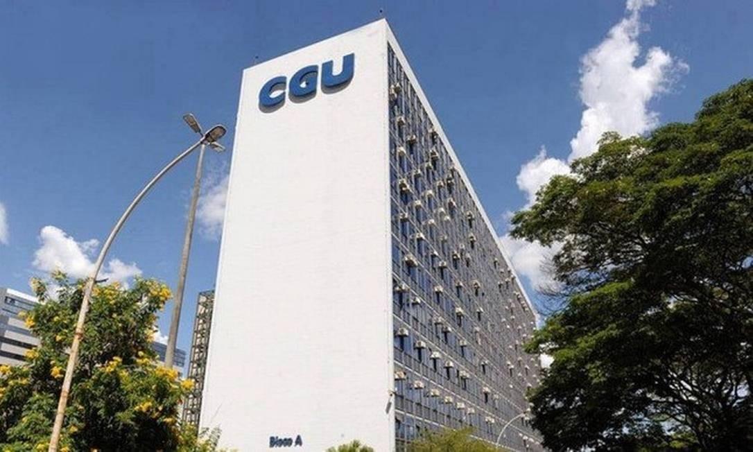Fachada do prédio da CGU, responsável pela fiscalização da transparência dos órgãos federais Foto: Jefferson Rudy / Agência Senado