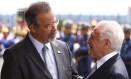 O ministro da Defesa, Raul Jungmann, e o preisdente Michel Temer, antes de reunião do Conselho Militar de Defesa Foto: Jorge William / Agência O Globo
