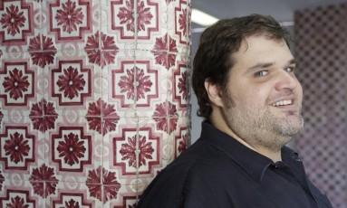 """""""Eu acredito mais no poder da arte do que do bons costumes"""" diz o cineasta Rafael Sampaio Foto: Gustavo Miranda / Agência O Globo"""