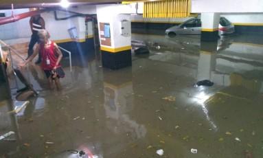 Copacabana registra chuva esperada para o mês inteiro Foto: Madson Gama