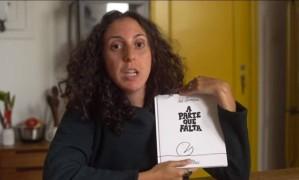 """Reprodução do vídeo em que Jout Jout lê o livro """"A parte que falta"""" Foto: Reprodução"""