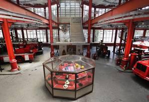 Passado revitalizado: objetos remontam ao século XIX Foto: ANTONIO SCORZA / Agência O Globo