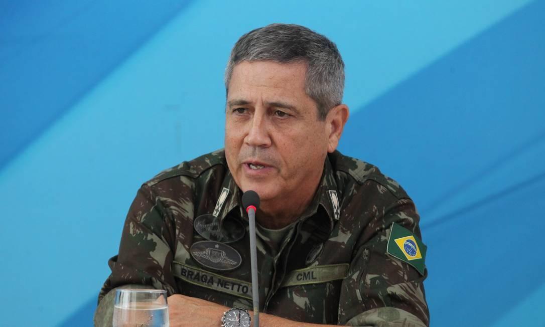 Interventor quer a volta de mais de 3 mil policiais e agentes Foto: Ailton Freitas