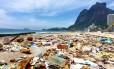 O impacto dos canudos plásticos descartáveis nos oceanos Foto: Marcello Farias/Salvemos São Conrado / Divulgação