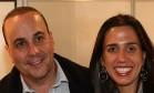 Orlando Diniz e Danielle Paraíso durante evento público Foto: Reprodução