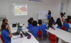 Sala de aula em colégio particular do Rio. Foto: Marcelo de Jesus / 16-10-2017 Foto: Marcelo de Jesus / Agência O Globo