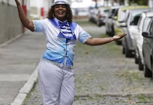 Sarah Silva, de Del Castilho, faz parte de equipe de Neguinho da Beija-Flor Foto: Agência O Globo / Gustavo Miranda