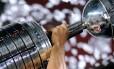 O troféu da Libertadores Foto: Divulgação