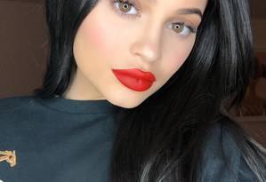 Kylie Jenner, irmã de Kim Kardashian Foto: Reprodução/Twitter