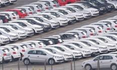 A indústria automobilística liderou o número de chamamentos para recall no ano passado Foto: Marcos Alves / Agência O Globo