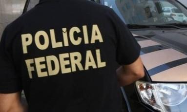Polícia Federal no Rio Foto: O Globo