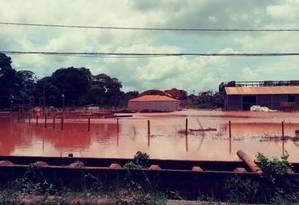 O município Bacarena, no Nordeste do Pará Foto: Divulgação/Instituto Evandro Chagas