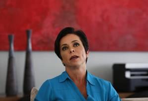 A deputada federal Cristiane Brasil Foto: Michel Filho / Agência O Globo/22-2-18