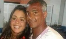 Romário e a irmã Zoraidi Foto: Reprodução