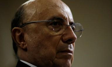O ministro Henrique Meirelles Foto: Adriano Machado/Reuters