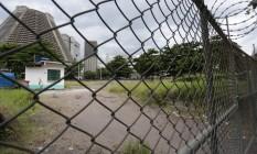 Patrimônio à venda: terreno da Eletrobras na Lapa, no Rio Foto: Roberto Moreyra