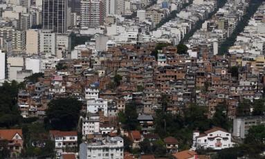 Comunidade do Cantagalo. Imagem de 21/09/2016. Foto: Custódio Coimbra / Agência O Globo