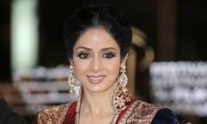 Sridevi era um dos grandes nomes de Bollywood Foto: Lionel Cironneau / AP