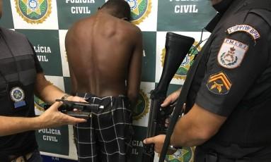 Adolescente acusado de emprestar arma que disparou e matou menino de 10 anos tinha passagens pela polícia Foto: Divulgação