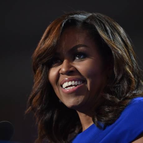 Michelle Obama, ex-primeira-dama dos Estados Unidos Foto: NICHOLAS KAMM / AFP