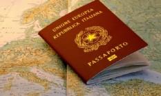 Passaporte italiano: Muitos brasileiros solicitaram cidadania da Itália via residência sem sequer ter ido ao país Foto: Divulgação