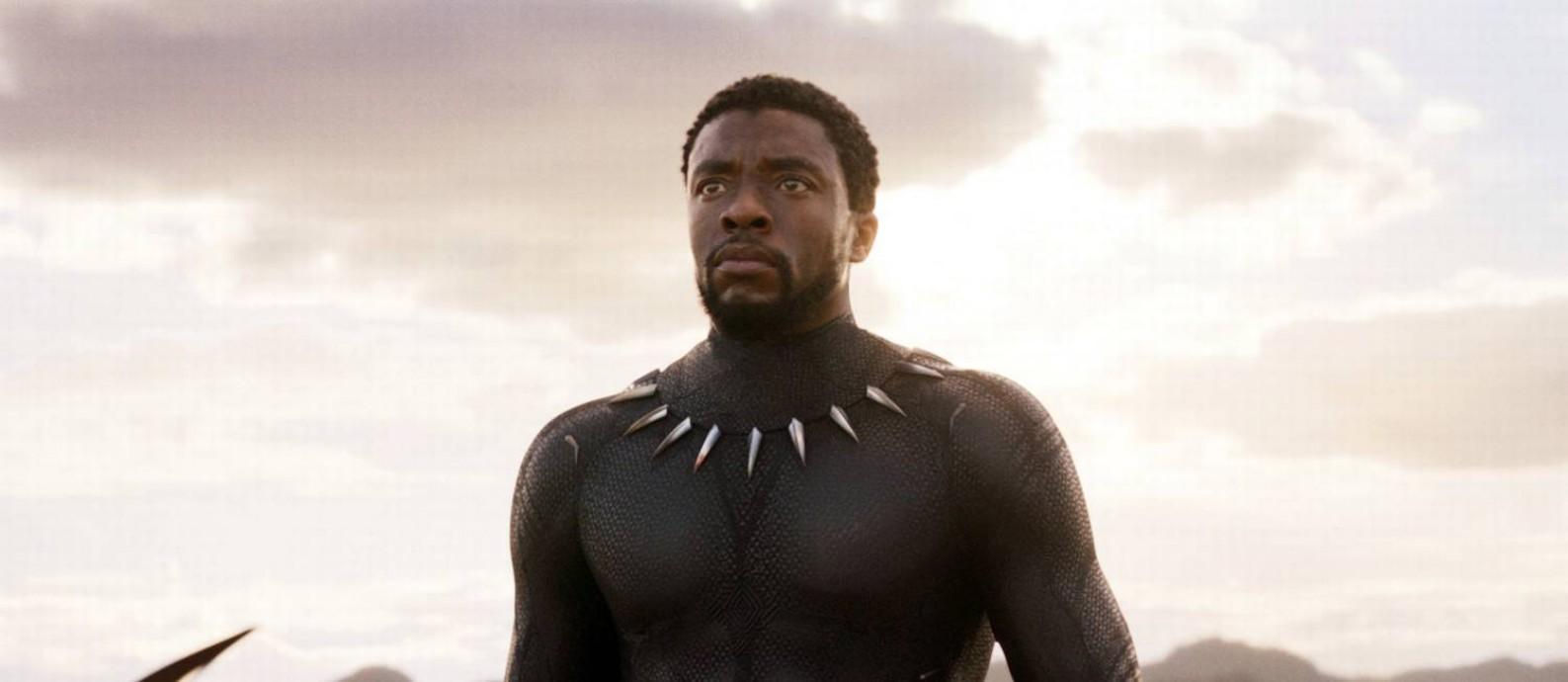 Chadwick Boseman - O rei T'Challa de