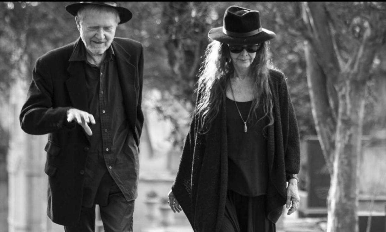 'Antes do fim', com Helena Ignez e Jean-Claude Bernardet Foto: Divulgação