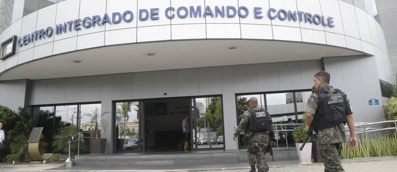 O Gabinete de Intervenção na segurança do estado vai funcionar no Centro Integrado de Comando e Controle (CICC), na Cidade Nova Foto: Gabriel Paiva / Agência O Globo
