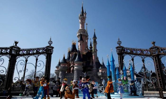 Disney anuncia plano milionário de ampliação de parque em Paris