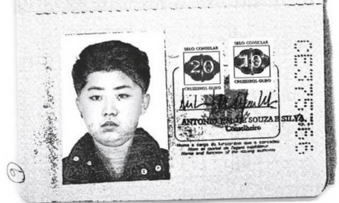 Kim Jong-Un com passaporte brasileiro falso