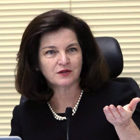 A procuradora-geral da República, Raquel Dodge Foto: Givaldo Barbosa / Agência O Globo