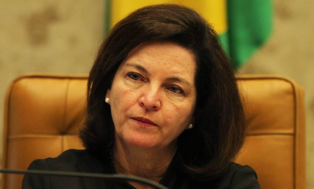 A procuradora-geral da República, Raquel Dodge, foi alvo dos ataques Foto: Ailton de Freitas / Agência O Globo