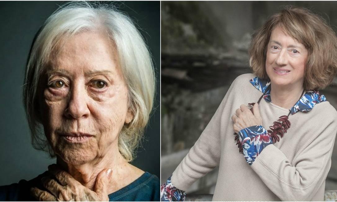 Fernanda Montenegro e Jocy de Oliveira: leitoras de Hilda Hilst Foto: Divulgação / Agência O GLOBO