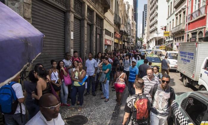 Taxa de desemprego registra alta no Brasil